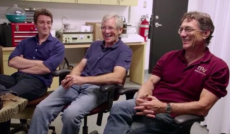 Alex Lagina, Craig Tester and Marty Lagina on The Curse of Oak Island