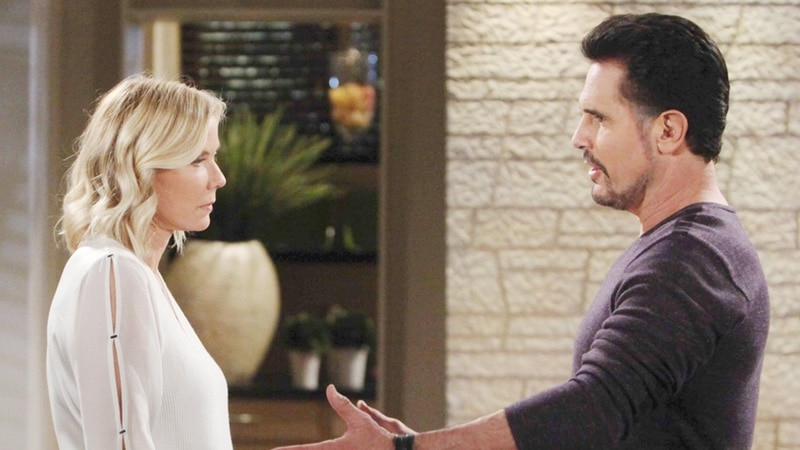 Brook and Bill on The Bold and the Beautiful
