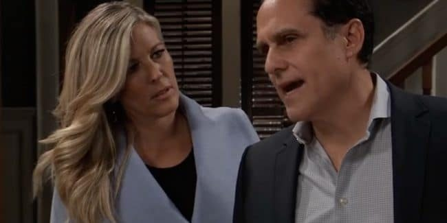 Carly and Sonny on General Hospital
