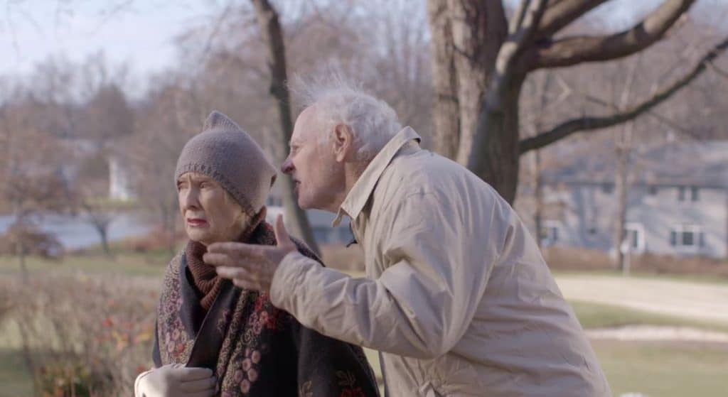 Cloris steals the show in every scene as Dern is on to his granddaughter's nature. Pic credit: Gravitas Ventures