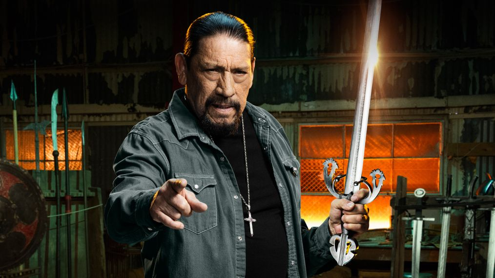 Danny Trejo brings the steel and the swagger to El Rey, home of Man At Arms: Art of War. Pic credit: El Rey