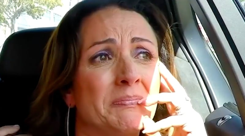 Jenni Pulos breaks down in tears on the Flipping Out