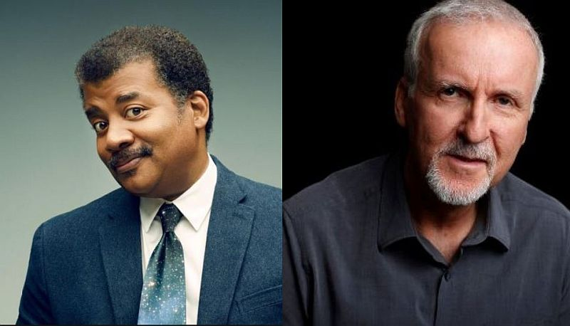 Neil degrasse Tyson and James Cameron are selling tickets in NYC for a live StarTalk Pic credit: Nat Geo