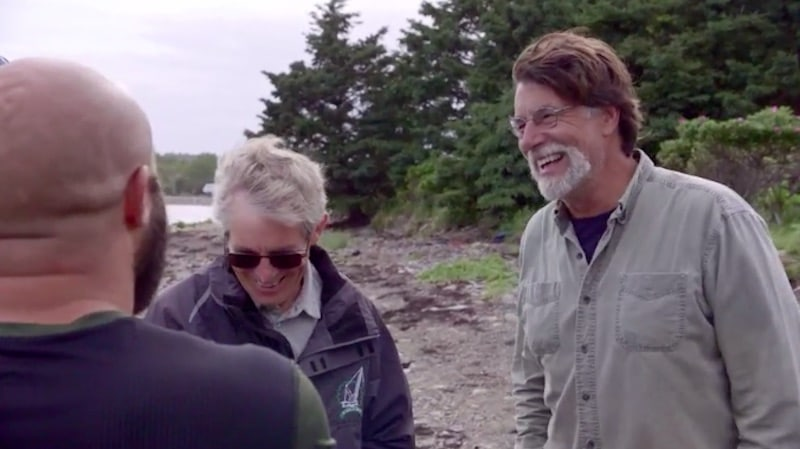 Rick Lagina, Craig Tester and Jack Begley on this week's episode of The Curse of Oak Island