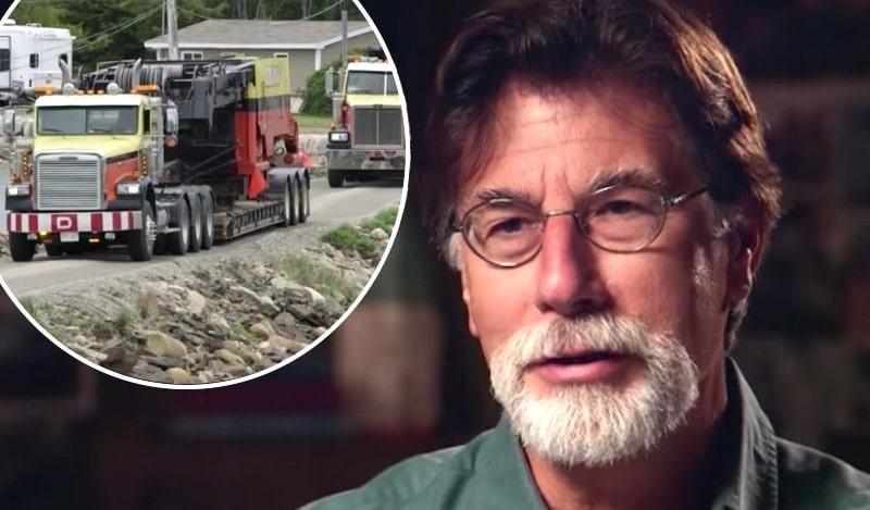 Rick Lagina on The Curse of Oak Island and trucks arriving on Oak Island