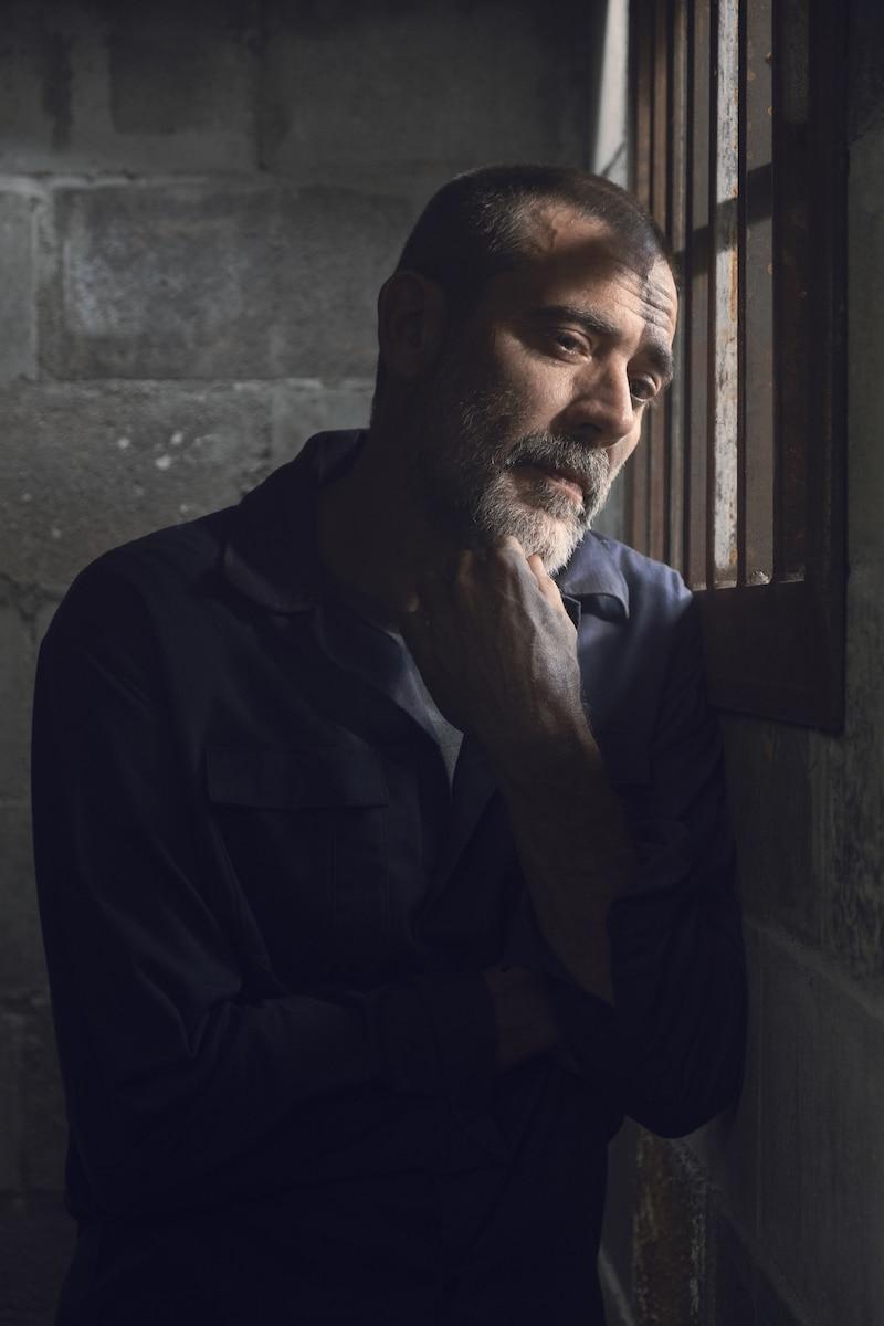 Jeffrey Dean Morgan as Negan- The Walking Dead _ Season 9, Episode 6 - Photo Credit: Gene Page/AMC