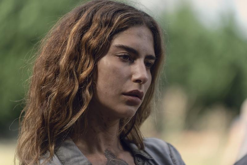 Nadia Hilker as Magna- The Walking Dead _ Season 9, Episode 6 - Photo Credit: Gene Page/AMC