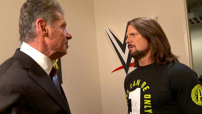 WWE News: AJ Styles attacks Vince McMahon, what does this mean for the Phenomenal One?