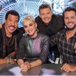 America Idol Luke Bryan, Lionel Richie, Katy Perry