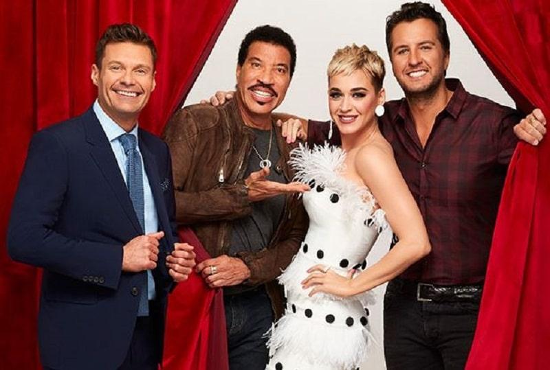 American Idol Lionel Richie, Luke Bryan, Katy Perry