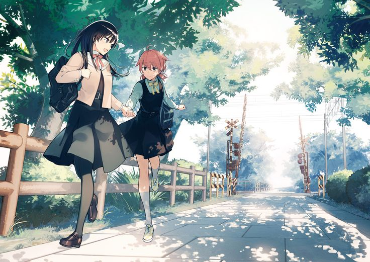 Bloom Into You Manga Art