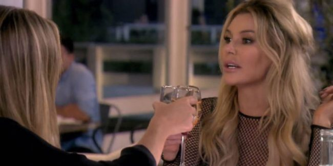Denise Richards and Brandi Glanville on The Real Housewives of Beverly Hills