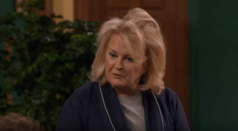 Candice Bergen on a new episode of Murphy Brown