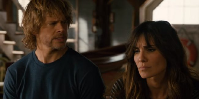 Deeks and Kensi as part of the NCIS: Los Angeles cast in new episode