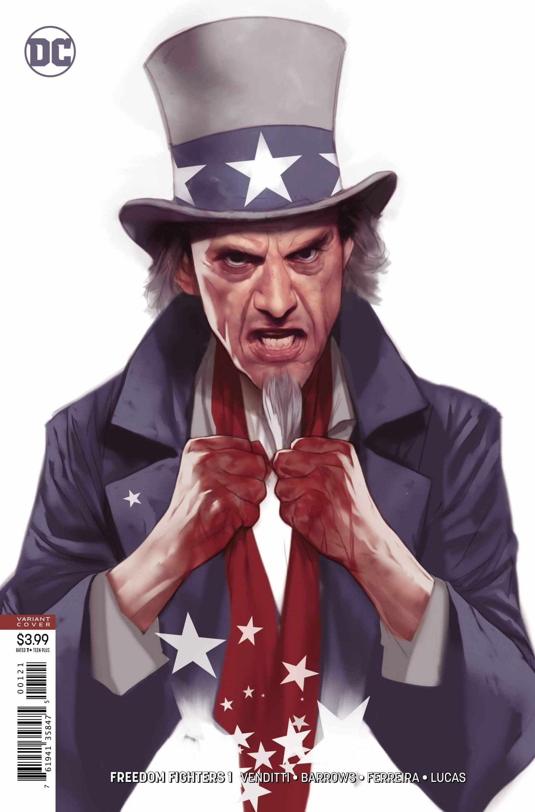 FreedomFighters #1 -Variant Cover