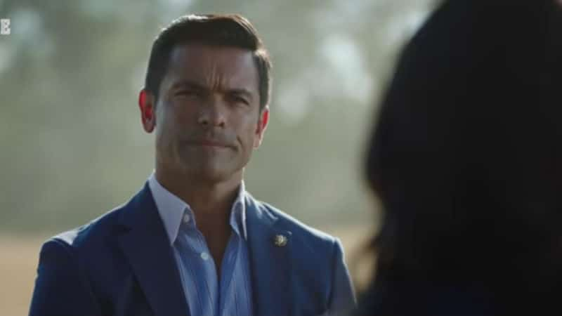 Mark Consuelos as Hiram Lodge on Riverdale