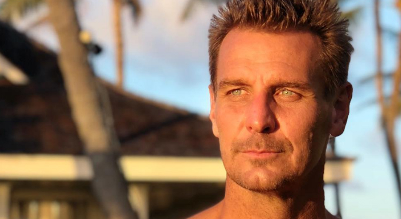 Ingo Rademacher shares a lot of photos from his home state, Hawaii