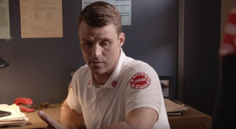Jesse Spencer as Casey on the Chicago Fire cast