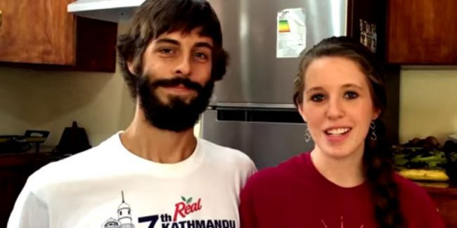Derick Dillard and Jessa Duggar in a confessional during their mission trip