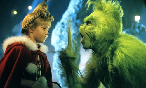 Cindy Lou Who and The Grinch