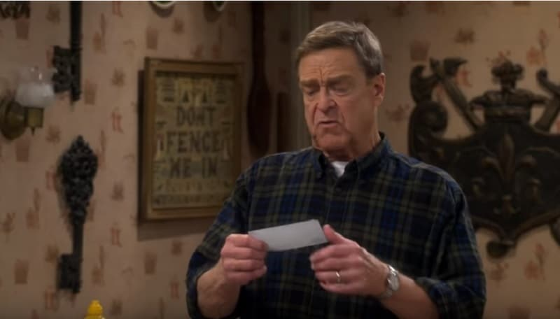 John Goodman as Dan on The Conners cast