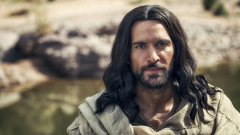 Di Pace portrays Jesus in A.D. The Bible Continues. Pic credit: NBC