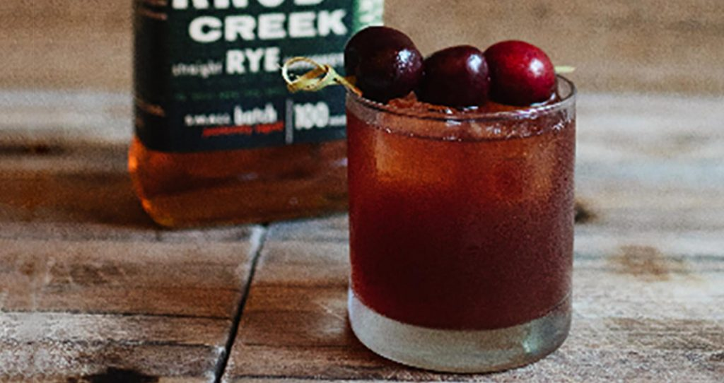 The Maine Event needs a spicy rye like Knob Creek. Pic credit: Knob Creek