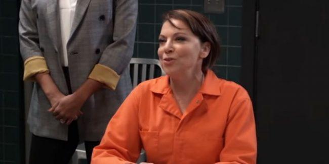 Kathleen Gati as Liesl Obrecht on General Hospital