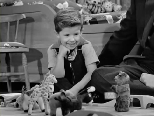 Richard Keith as Little Ricky on I Love Lucy