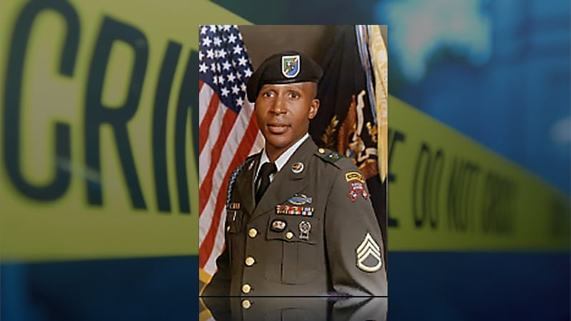 Louise Jones Jr. in military uniform