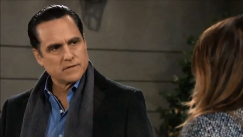 Maurice Benard as Sonny Corinthos on General Hospital