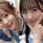 Miyawaki Sakura and Yabuki Nako