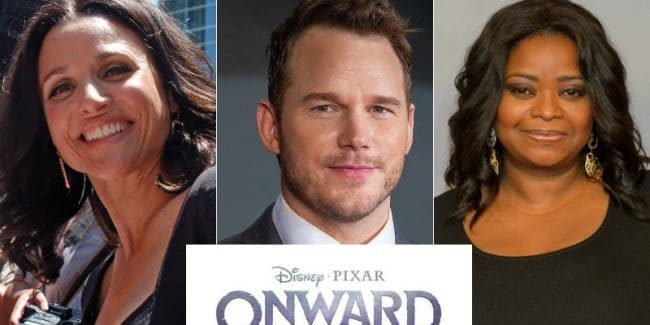 Pixar signs up Chris Pratt, Julia Louis-Dreyfus and Octavia Spencer for Outcast