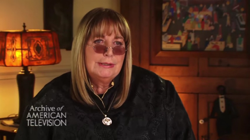 Penny Marshall in an interview