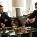Ghost (Omari Hardwick) and Tommy (Joseph Sikora) on Power on Starz