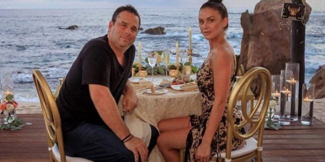 Randall Emmett and Lala Kent are celebrating their engagement and the end of their secrecy. Pic credit: @givethemlala/Instagram