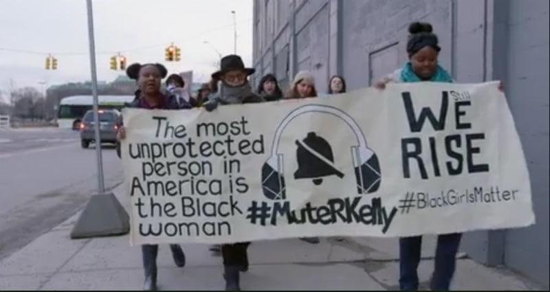 Surviving R Kelly is the new Lifetime docu-series that explores allegations of a sex cult run by the singer. Pic credit: Lifetime