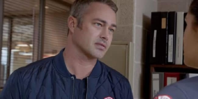 Taylor Kinney as Kelly Severide on the Chicago Fire cast