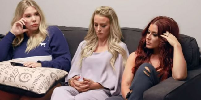 Kailyn Lowry, Leah Messer, Chelsea Houska at the Teen Mom 2 reunion