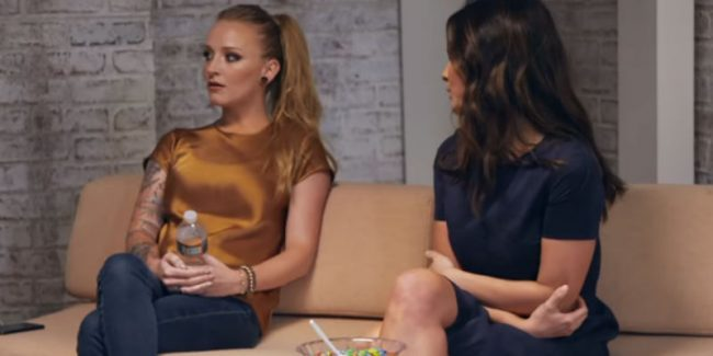 Maci Bookout and Bristol Palin from Teen Mom OG