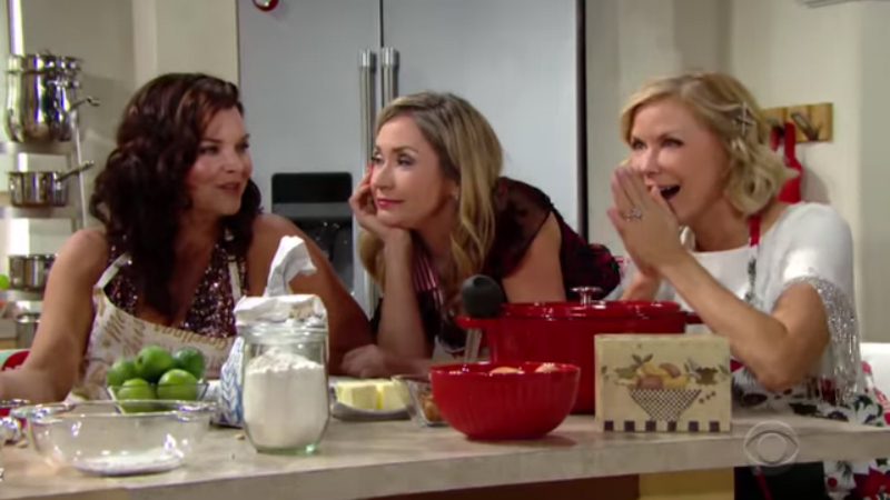 It's a holiday celebration on The Bold and the Beautiful