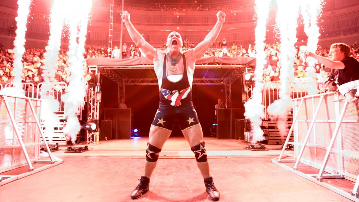 Kurt Angle started as an Olympic gold medalist and made his mark on pro wrestling too