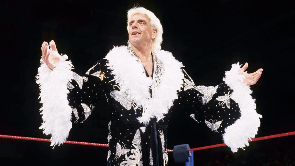 Ric Flair's style was just as over the top as his WWE persona
