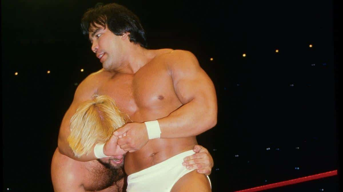 Ricky 'The Dragon' Steamboat in the WWE