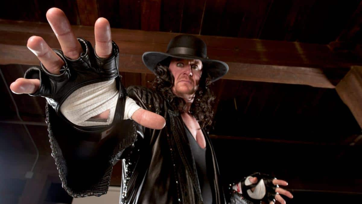 The Undertaker takes wrestling to a spooky level