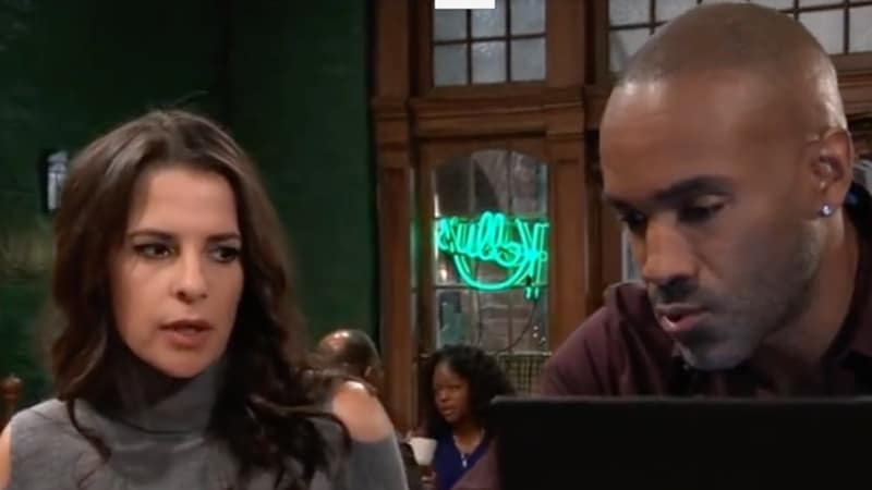 Sam and Curtis on General Hospital