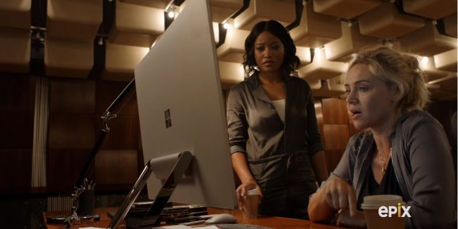 Berlin Station exclusive preview: April and Sofia strategize how to fight Russian trolls