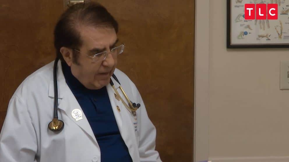 Dr. Younan Nowzaradan doesn't coddle his patients, if they cheat he calls them out. Pic credit: TLC
