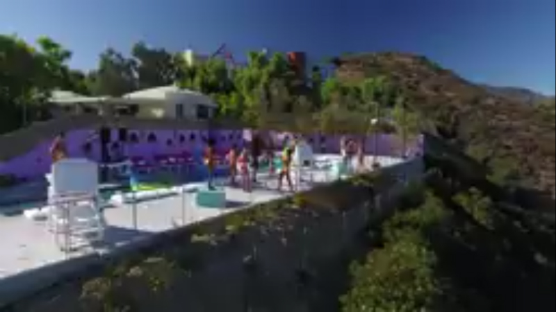 The Ex on the Beach house in Malibu