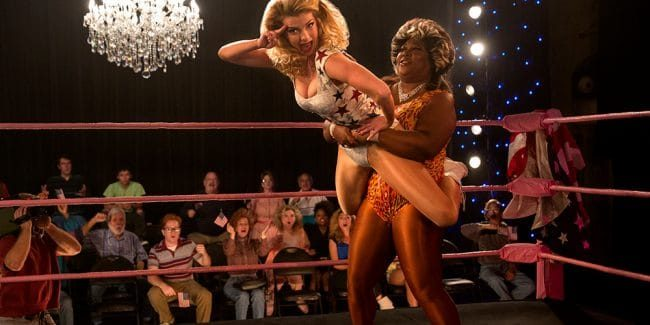 GLOW on Netflix is definitely a unique scripted series